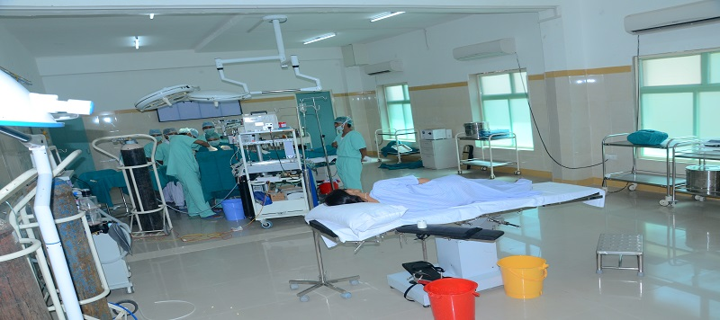 wards and rooms